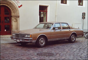 In search of full sized cars and station wagons