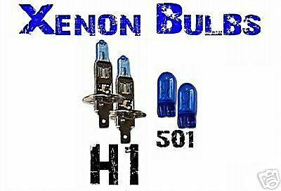 Jaguar 95 X Type XKR all ultra Xenon Bulbs H1  501
