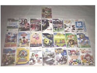 22x Nintendo Wii Games Bundle Sale