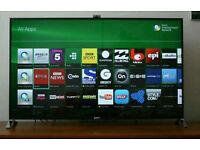 "Sony 55"" LED smart Android tv 3D wi-fi built in camera HD FREEVIEW"