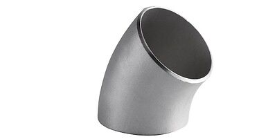 2 Stainless Steel 304 45 Elbow Short Radius Sch.40