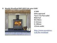 Mendip Woodland multi-fuel stove