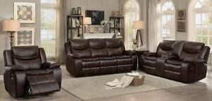WHOLESALE FURNITURE WAREHOUSE LOWEST PRICE GUARANTEED WWW.AERYS.CA 3pcs recliner starts from $899