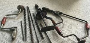Lot of mixed old hand tools