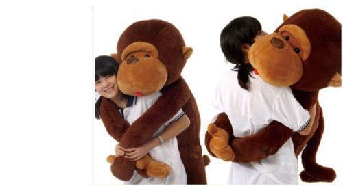 giant stuffed monkey ebay. Black Bedroom Furniture Sets. Home Design Ideas