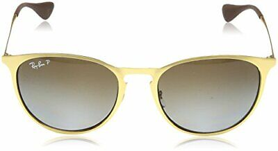 RayBan Erika Metal Sunglasses RB3539 112/T5 54 Gold Brown Gradient Polarized