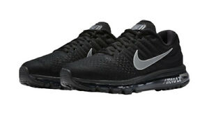 d13e2094f9c6 Nike Air Max 2017 Mens Black Running Shoe Anthracite Size 10 for ...