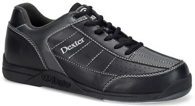 DEXTER RICKY III BLACK/ALLOY MENS BOWLING SHOES