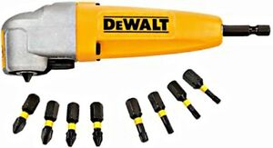 DEWALT 90 Degrees Right Angle Attachment Screwdriver Adapter Tight Access Tool