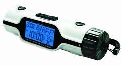 Tech Tools PI-810 World Time Travel Alarm Clock with Flashlight