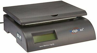 Weighmax Capacity Postal Shipping Scale Battery And Ac Adapter Included Gray