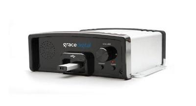 (Grace Digital Message and Music on Hold USB Digital MP3 Player, Silver)