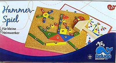 Nr 373 . Hammerspiel von Beluga für den kleinen Handwerker NEU OVP Versand in DE
