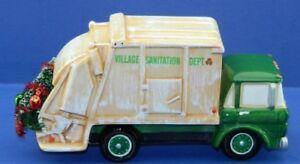 camion de vidange  Dept 56 pour village de Noel