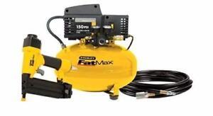 stanley fatmax Compresseur à air 6 gal avec hose