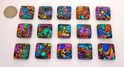 Dichroic Glass Tiles