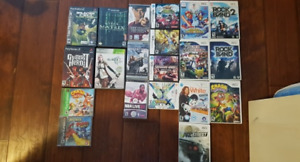 Various PS1, Wii, Gamecube, Xbox 360, DS, 3DS, PS2 and PSP games