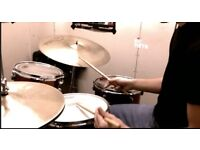 Experienced drummer available!