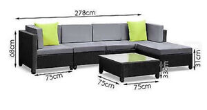 Outdoor lounge sofa Half price 8 seats  BNWT Gladesville Ryde Area Preview
