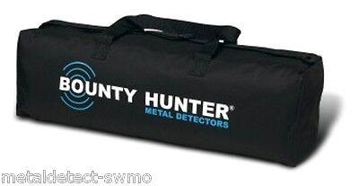 Bounty Hunter New Black with Logo Metal Detector Pro Treasure Hunter Carry Bag