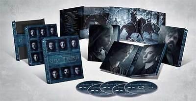 Game Of Thrones The Complete Sixth Season 6 Dvd 2016 5 Dvd Set New Digipak