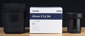 Sigma 60mm f/2.8 DN Lens for Micro Four Thirds Camera