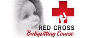 Red Cross Babysitting Course for Youth aged 11-15