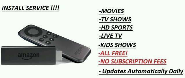 KODI INSTALL!✔FIRE STICK/BOX✔ANDROID DEVICE✔REMOTE INSTALL✔movies✔Sports✔TVShows✔Live TV✔Easy2use