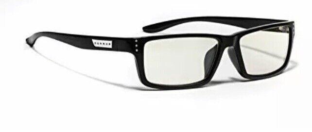 Gunnar Optiks RIO-00109 Riot Computer Accs Gaming Eyeglasses Onyx Frameliquet- D