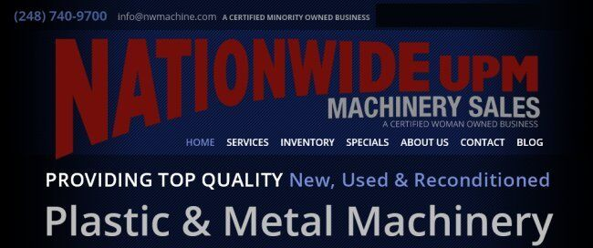 Nationwide Machinery Sales UPM
