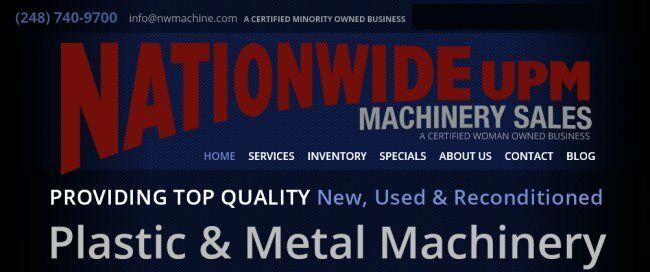 Nationwide Machinery Sales UPM
