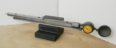 Brown Sharpe Micrometer Table Setting Attachment For Milling Machine 2-pc Set
