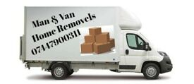 MAN AND VAN/ REMOVALS SERVICES /HOUSE MOVING /OFFICE/BIKE MOVER /FLAT MOVING