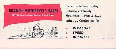 1952 Moto Guzzi & Velocette Motorcycle Brochure  wo5293-OLWBC3