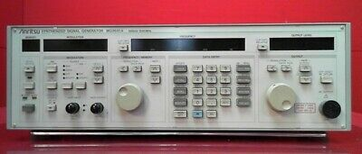 Anritsu Mg3631a-02 Synthesized Signal Generator 10khz To 1040mhz