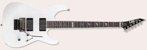 ESP LTD M-1000 Deluxe Snow White
