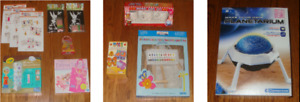 BRAND NEW CRAFT KITS (SEE ALL 4 PHOTOS)