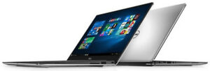 Dell XPS 13 9360 7th Gen i5 8GB 256 QHD TOUCH Silver