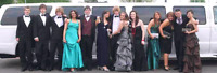 Prom limousine service best rate Limo rental for night out