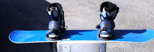 Snowboard 145cm With size 9 boots good condition $25.00