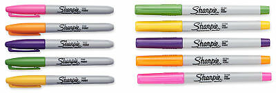 Sharpie Permanent Markers, 80's Glam Limited Edition, Assorted Colors (80s Glam Sharpies)