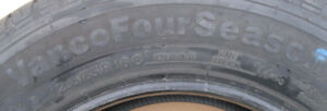 Continental 235/65/16 Load range E New Take Off Van tires