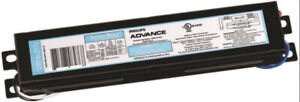 PHILIPS ADVANCE Electronic Ballast,T8 Lamps,120/277V ICN-2P32-N