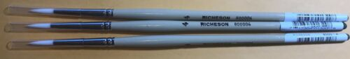 Painting Brush for Oil and Acrylic painting Richeson 800004 Size 4- Lot of 3