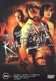 Kalifornia (1993) Brad Pitt, David Duchovny, Juliette Lewis - NEW DVD - Region 4