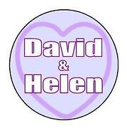 Personalised Love Heart Labels