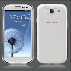 Samsung Galaxy S3 transparante Back cover case Gratis verzen