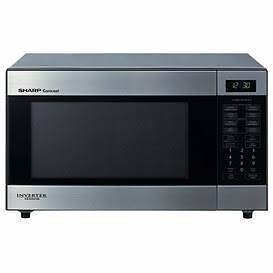 Sharp 1200W Stainless Steel Inverter Microwave - NOT FULLY WORKIN Baulkham Hills The Hills District Preview
