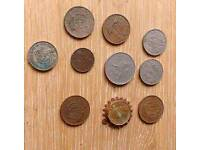 Job lot of 10 British coins