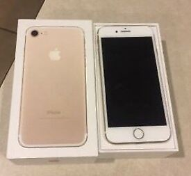 iPhone 7 gold 128gb UNLOCKED